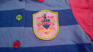 Little-Miss-Matched-Polo-Shirt-Size-Small-Approx-Age-6-NWT