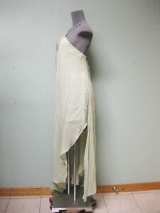 New Authentic Jacquemus La Robe Spiaggia Dress 42 Fluid Asymmetrical Drape Maxi