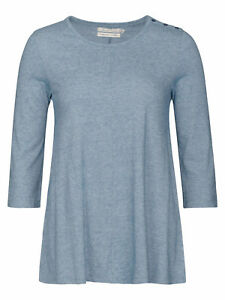 Seasalt-Blue-Rig-Quartermaster-3-4-Sleeve-Organic-Cotton-Top-Sizes-8-20-NEW