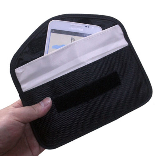 RFID Phone Signal Blocker Case Signal Blocking Bag Shield Key Holder Pocket Case