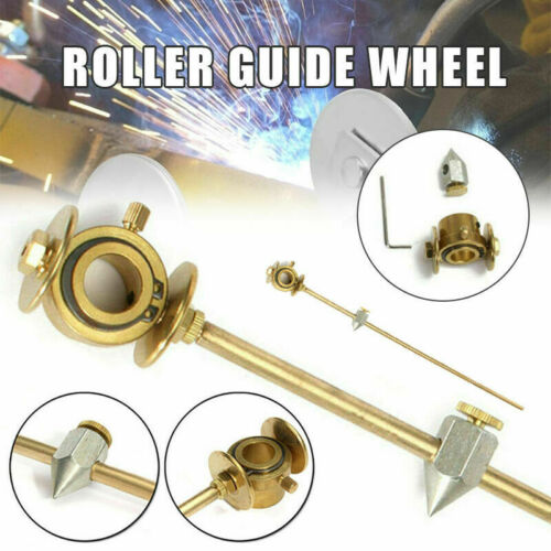 1* PLASMA CUTTER CUTTING TORCH CIRCULAR ROLLER GUIDE WHEEL WELDING TOOL DURABLE
