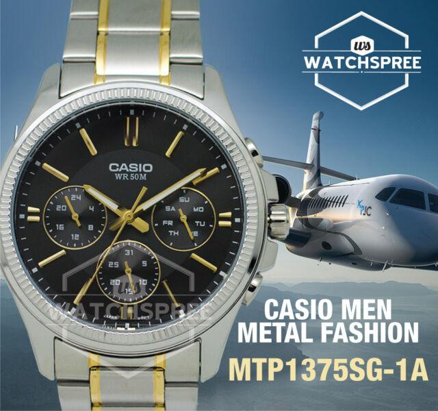 Casio Men's Standard Analog Watch MTP1375SG-1A