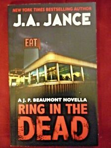 J A Jance Ring In The Dead First Edition Signed By Author Ebay