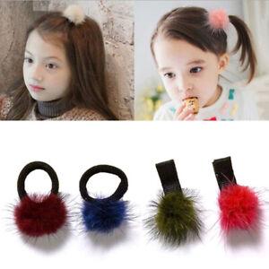 2pcs-Baby-Kids-Cute-Hair-Accessories-Headwear-Mini-Mink-Ball-Rubber-Headba-EPYW