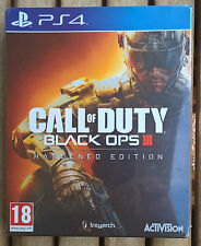 Call of Duty Black Ops III Hardened Edition PlayStation 4 (Black Ops 3 PS4) NEUF