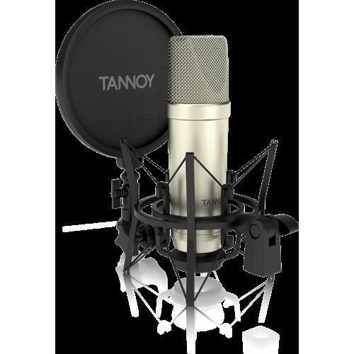TANNOY TM1 MICROFONO A CONDENSATORE A DIAFRAMMA LARGO CON ANTIPOP E SUPPORTO ELA