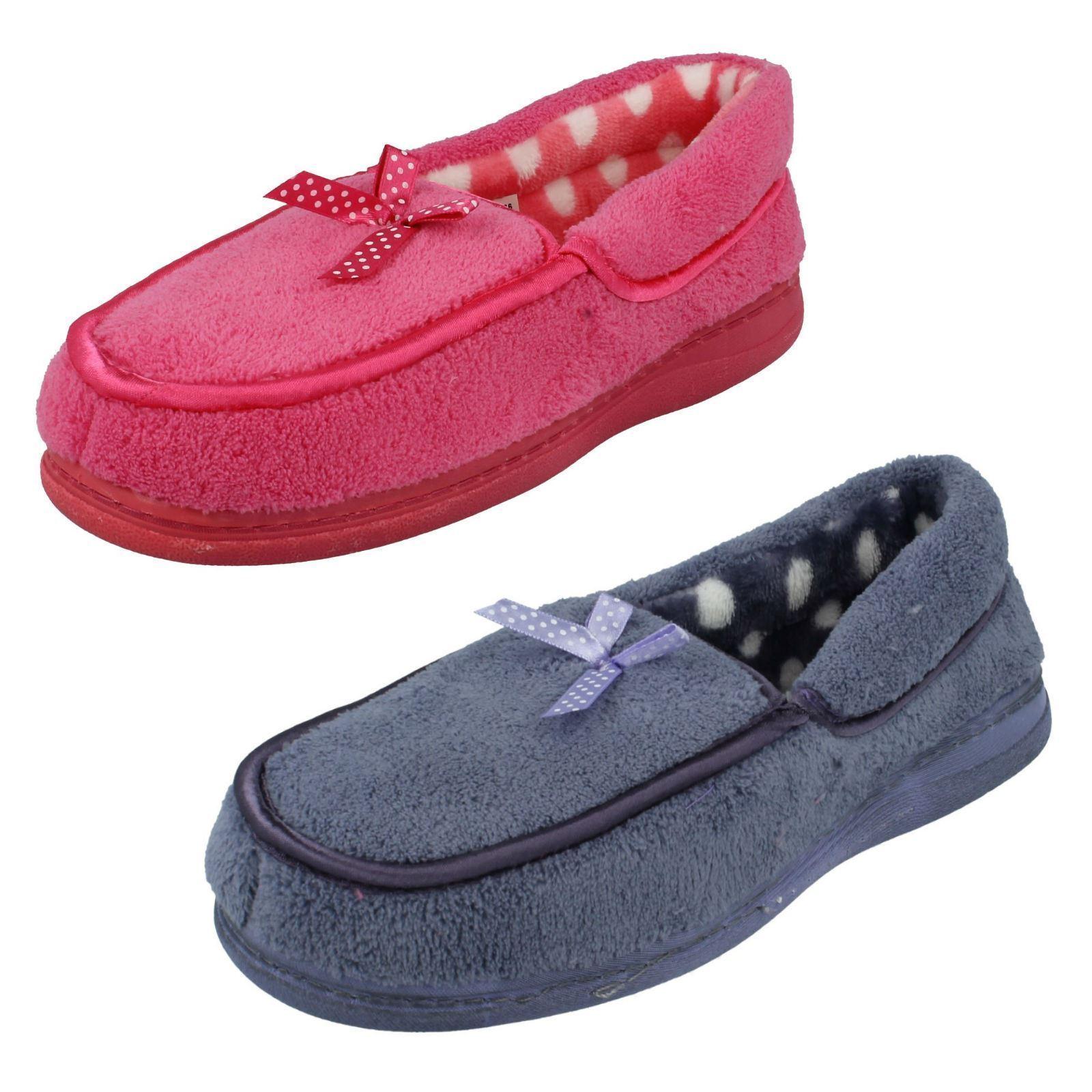 Ladies Jyoti Riva Bow Detail Slippers - Riva Jyoti 706d9a