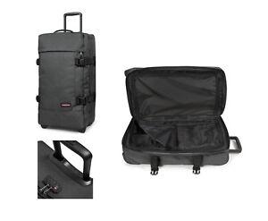 Eastpak-Tranverz-L-black-denim-121-l-TSA-Reise-Trolley-Koffer-Tasche-EK63L77H