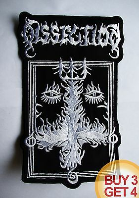 DISSECTION 2 W BACK PATCH BUY3GET4,WATAIN,GORGOROTH,MAYHEM,EMPEROR,BLACK METAL