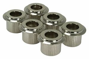 AllParts-10mm-Conversion-Bushings-Set-of-6-Nickel