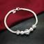 925-Silver-Plated-Charm-Beads-Chain-Bracelet-Bangle-Fashion-Women-Jewelry-Gift thumbnail 1