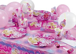 Barbie-Party-Pink-Shoes-Kindergeburtstag-Partyset-Partygeschirr-Deko-Auswahl