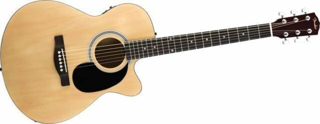 Fender Concert Fa135ce Acoustic Electric Guitar Ebay