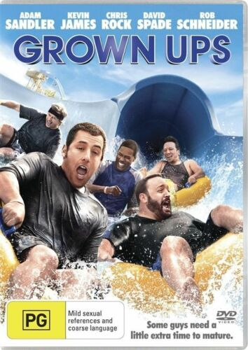 1 of 1 - Grown Ups (2010) NEW R4 DVD