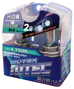 Holden VY VZ SS  MTEC H4 60/55W Cosmos Blue 4750K Bulbs