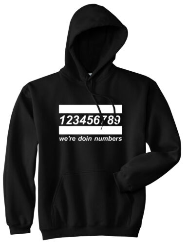 Kings Of NY We Are Doing Numbers 12345 Pullover Hoodie Sweatshirt