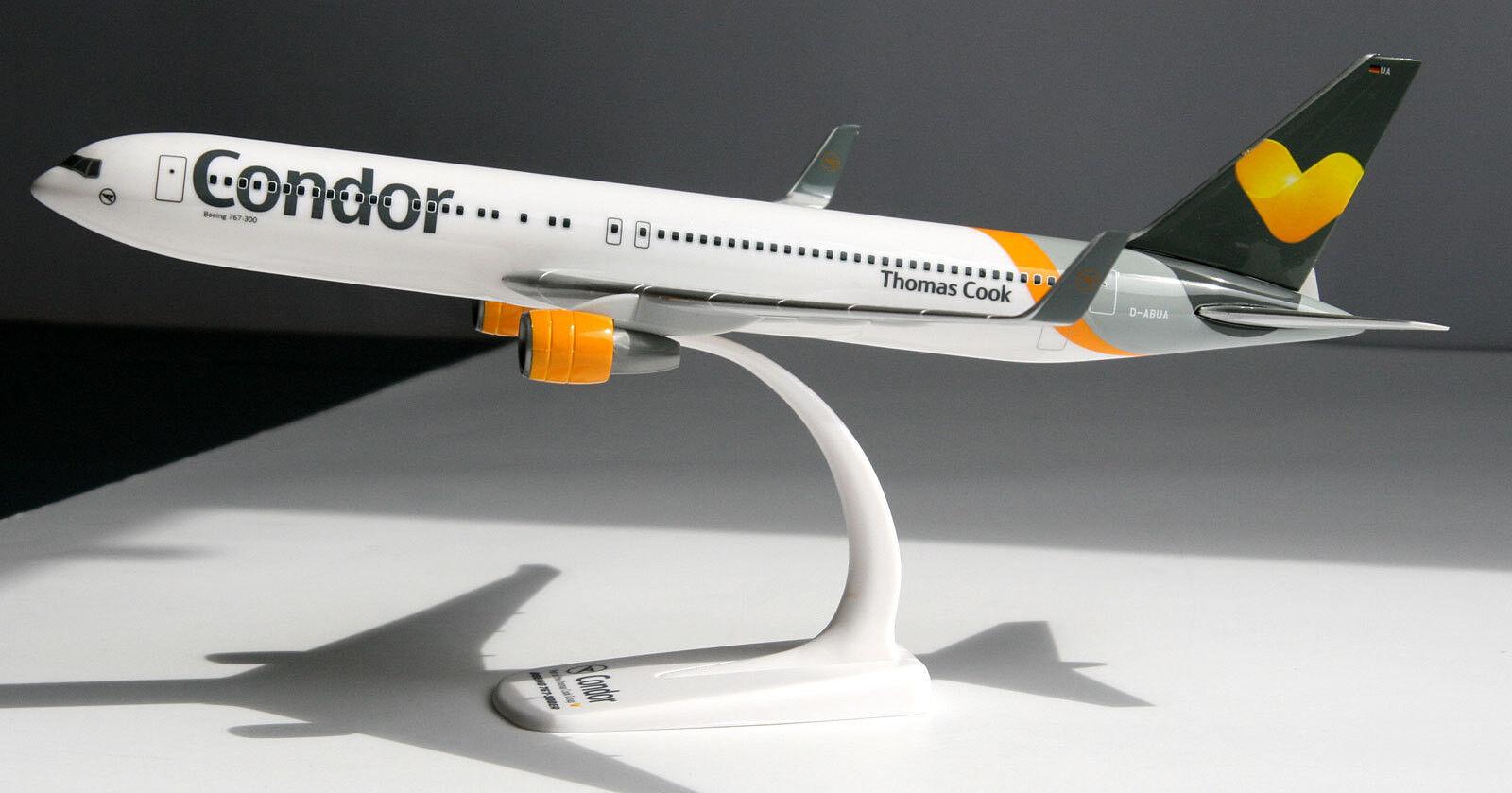 Condor Condor Condor Boeing 767-300ER 1 200 Herpa Snap-Fit 610865 Flugzeug B767 Thomas Cook 7da1c9
