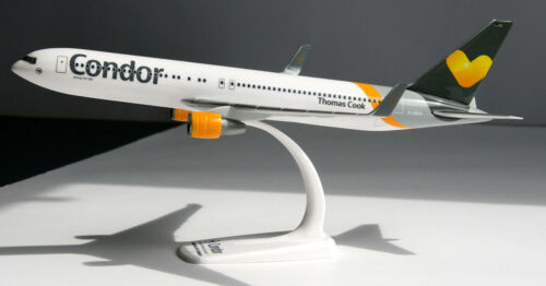 Condor BOEING 767-300er 1:200 Herpa Snap-Fit 610865 aereo b767 Thomas Cook