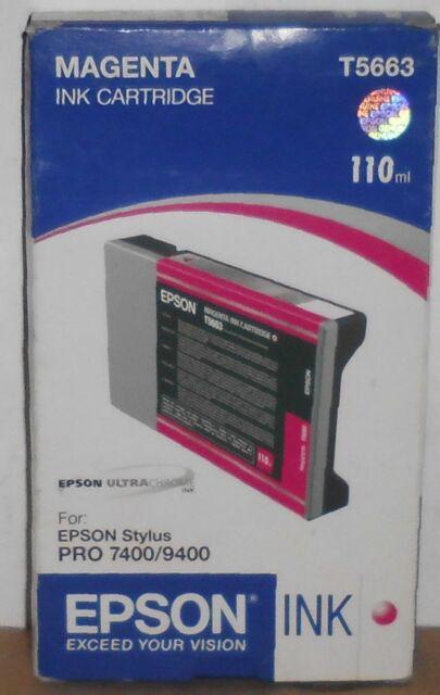Epson T5663 Tinte für Stylus Pro 7400 9400 7450 9450 magenta