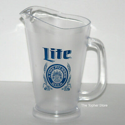 Cook Outs MILLER LITE Plastic Draft Beer Pitcher /> Home Bar BBQ/'s Man Cave