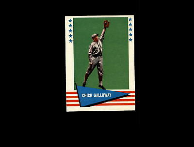 1961 Fleer 108 Chick Galloway Ex-mt #d796505 Dependable Performance Sports Trading Cards