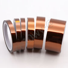 1 Roll 15mm Polyimide Kapton Tape Adhesive High Temperature Heat Resistant 33m