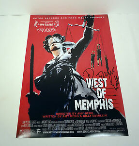 DAMIEN-ECHOLS-WM3-WEST-OF-MEMPHIS-THREE-SIGNED-AUTOGRAPH-MOVIE-POSTER-PHOTO-COA