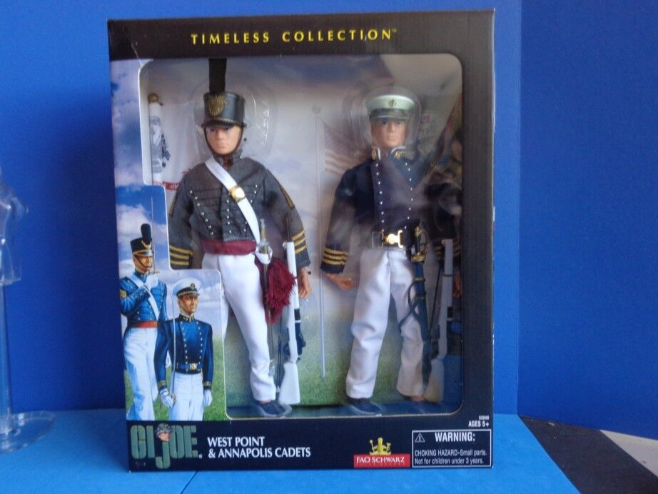 G I JOE 12  WEST POINT AND ANNAPOLIS CADETS NRFB- TIMELESS COLLECTION- FAO