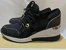Michael-Kors-Brand-New-Authentic-LIV-Trainer-Size-US-9M-Style-43F8SCFS3D