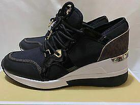 Michael Kors Brand New Authentic LIV Trainer Size US 9M  Style # 43F8SCFS3D