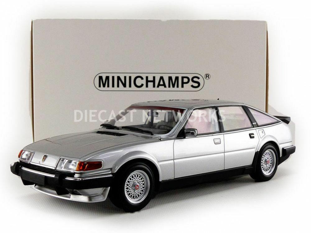 Minichamps-Rover Vitesse 3.5 V8 couleur argent circa 1986 échelle 1 18.