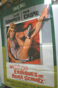 XXL Filmplakat,THE WICKED DREAMS OF PAULA SCHULZ, ELKE SOMMER,BOB CRANE,#68