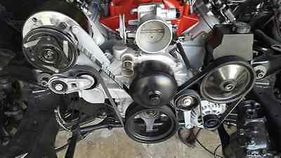 R4 LS A/C Bracket Turbo F-Body Camaro Spacing LS2 LS3 LS6 A/C bracket