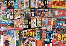 6 x MARVEL COMICS - 70's-00's - ALL DIFFERENT - Spiderman, Thor, Avengers etc