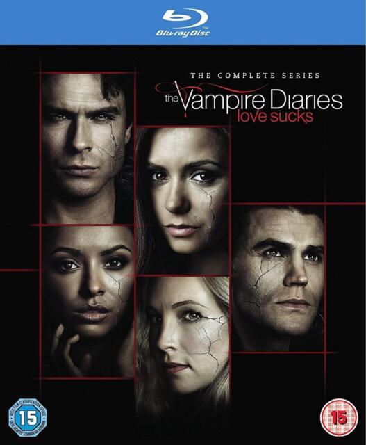 Vampire Diaries Complete Series Season 1+2+3+4+5+6+7+8 Blu-ray Box Set RB New