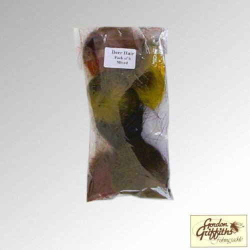 dhroe Gordon Griffiths Chevreuil-Cheveux Teints Mixte Pack de 6 Couleurs