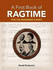Dover Music for Piano: A First Book of Ragtime : 24 Arrangements for the...