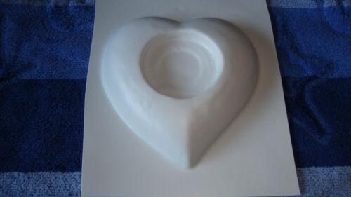 Form 1 Herz Teelicht Länge : 12 cm Giessform