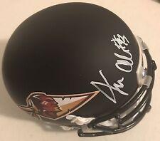 Jonathan Allen Signed Autographed Washington Redskins Custom Made Mini Helmet #1