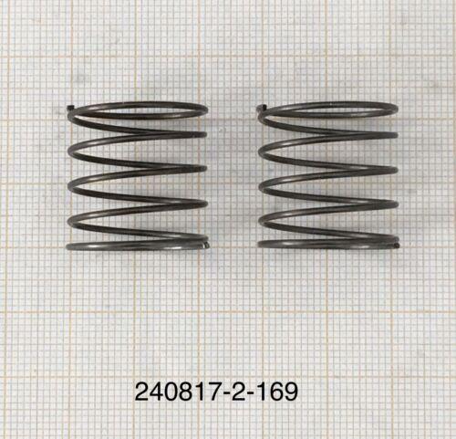 Außen Ø21mm 169 DrahtØ 1mm 2 x Druckfeder Länge 20mm