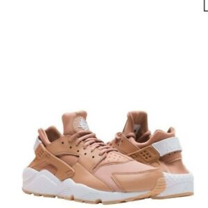 premium selection on wholesale new styles Details about NIKE AIR RUNNING SHOE Huarache Run Dusted Clay White-Yellow  Gum Women 9 in Box