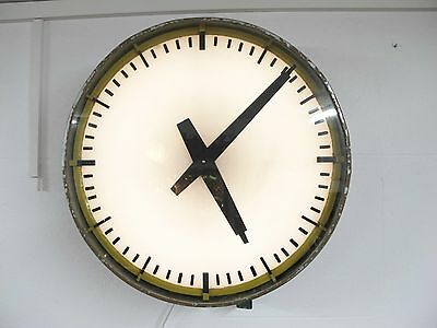 Australian Art Deco Railway Station Clock, C1930's Dependable Performance