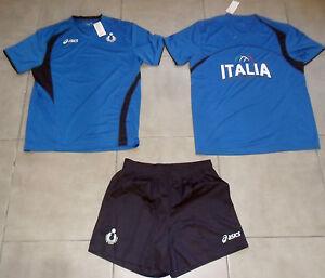 10440-FW13-MAGLIA-MAGLIETTA-SHORT-XL-ITALIA-PALLAVOLO-FIPAV-ITALY-VOLLEY-SET