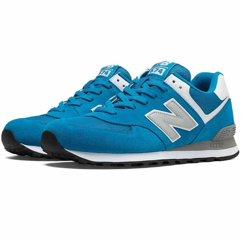 NIB New Balance ML574VAW 574 blueE GREY LIFESTYLE RETRO RUNNING SNEAKERS 9-13