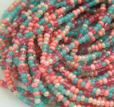 """Czech Glass Seed Beads 11/0 """" JAIPHUR MIXTURE """" 1 Hank"""