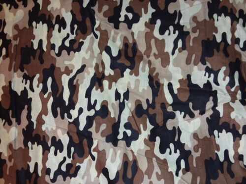 Welding  cap BLACK WHITE BROWN CAMOUFLAGE fabric