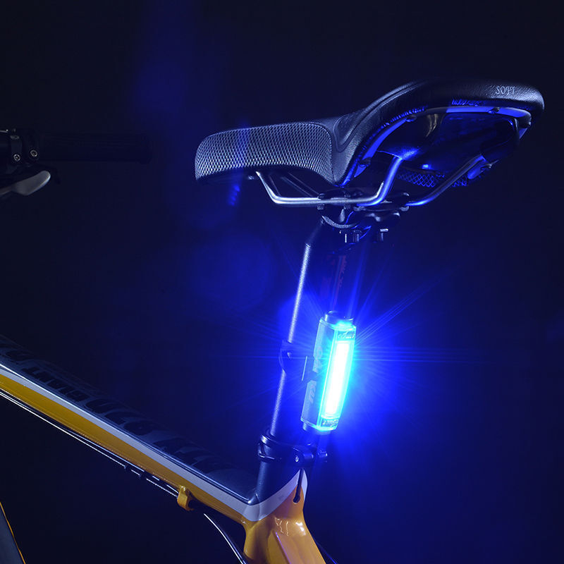 Recargable USB Led Cob Luz Azul - - - Luna Luces Brillante Aluminio Parte Trasera da539e