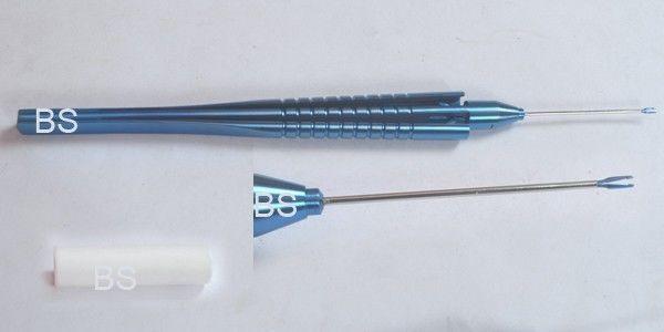 TITANIO vítrea 25 calibre vitrectomía VR final Agarre Forcep oftálmico oftálmico oftálmico Ojo si26 082e88