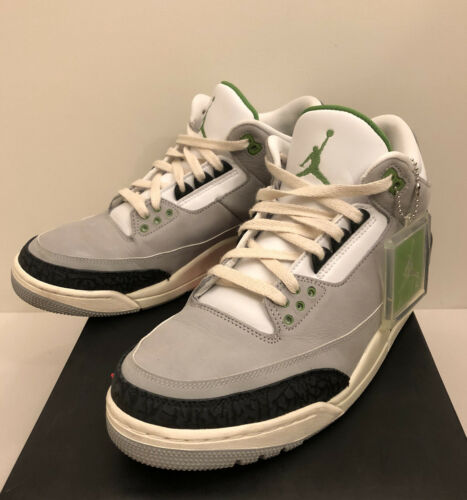 Nike Air Jordan III Chlorophyll