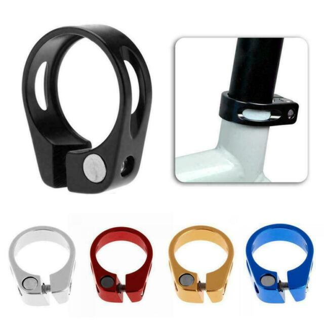 PRO Shimano Performance Seatpost Clamp 34.9mm Alloy Seat Post Collar Black 34.9